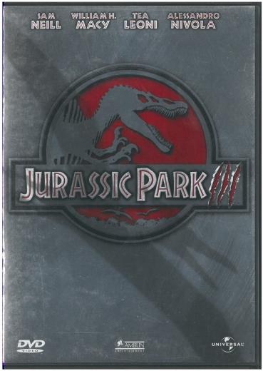 JURASSIC PARK III DVD (orginal)