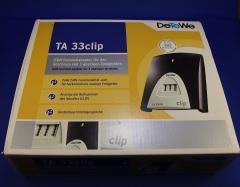 TA 33clip  - ISDN Terminaladapter für den Anschluss von 3 analogen Endgeräten - DeTeWe